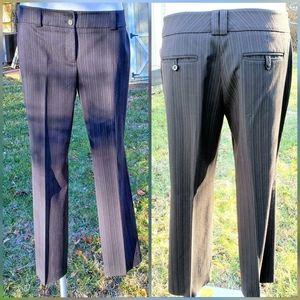 NY&Co suit pants 10P black pinstripe, blazer avail
